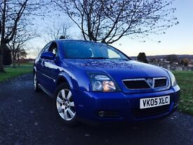 "ONLY 61k FSH""2005 VAUXHALL VECTRA 1.9 CDTI (150) 6 SPEED 2 OWNERS FROM NEW"