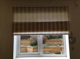 Roman blinds for sale - 2 sizes sold together or separately