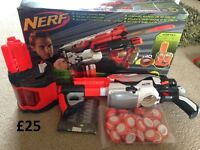 Nerf Gun with 40 bullets