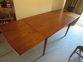 Mid-century Danish dining table