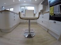 Kitchen diner stool BRAND NEW NOT USED minor chipped areas from delivery but can easily be repaired