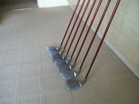 Ping G15 Set of Graphite Shafted Irons