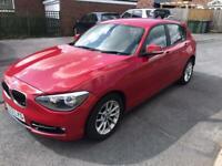 Bmw 1 series 116d2013 5 door 6 speed cheap tax