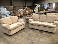 Brand new beige 3 + 2 seater sofa from Marks and Spencer's
