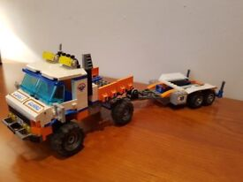 Lego City Rescue Boat and Launch Truck 7726