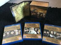 LOTR & The Hobbit bluray/3D **REDUCED**