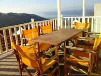Greek island house, in a fabulous location with fanatastic views on the island of Alonissos