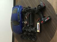 Vattera onroad rc car brushless w/lipo