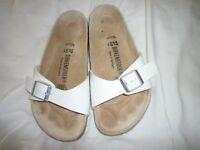 White Birkenstocks Size 4
