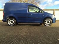 VW Caddy 1.6Tdi 2011 2 owners 115,000miles Blue
