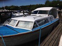 25' Seamaster Canal Cruiser inboard Diesel engine, Has Mooring Garstang Marina