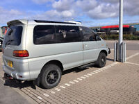 Mitsubishi Delica Space Gear 2.8 TD . Lots of extras, great family camping van and well maintained