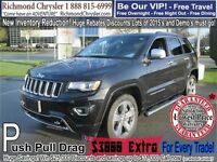 2015 Jeep Grand Cherokee Overland Richmond Greater Vancouver Area Preview