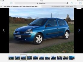 Now sold. Renault Clio see full ad mot march