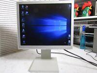 "NEC 17"" Multisync TFT LCD Monitor 1760NX L172EN cream Screen LCD1760NX ."