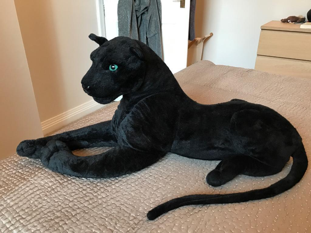 Toy panther, stuffed toy, stuffed tiger