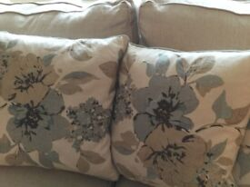 6 cushions John Lewis cost £285. As new.