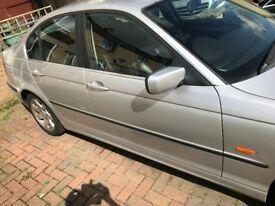 BMW 323i Petrol Automatic, with Leather seats.