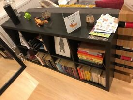 Bookcase/storage unit - Ikea KALLAX Cube storage 2x4 size, Black