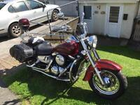 vn 1500 might swap for the right bike