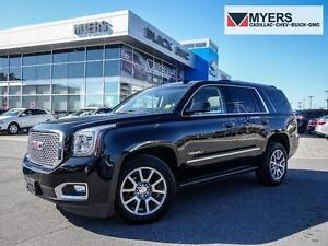 2015 GMC Yukon Denali ADAPTIVE CRUISE CONTROL/REAR DVD/HEATED &