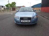 2005 AUDI A4 ESTATE 2.0 PETROL,1 OWNER CAR,FULL YEAR MOT,2 REMOTE KEYS,HPI CLEAR,WARRANTY MILEAGE