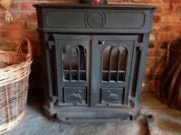 Multifuel Solid Cast Iron Stove