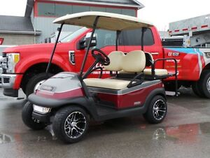 2014 club car Precedent Custom Painted Golf Cart, Upgraded wheel