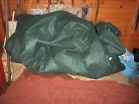 nearly new 3 months old large motorhome winter cover
