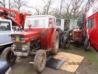 Massey Ferguson Tractor 135 £2,700 + Vat