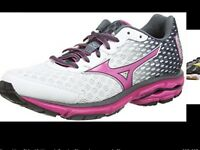 Ladies mizuno wave rider trainers brand new in box
