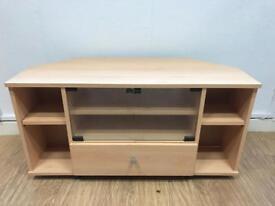 Beech wood TV stand