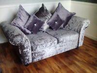 Crush velvet sofas can deliver