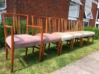 Gordon Russell Chairs Set of 6