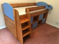 Stompa cabin bed and furniture - excellent condition