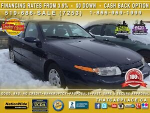 2000 Saturn L LS1-SOLD AS IS-Power Wdws/Drs/Mrrs-Cruise-AC-Tilt London Ontario image 1