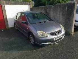 Honda civic 5 door cdti spares repairs