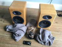 Audioengine A5+ Bamboo Speakers