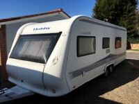 Hobby Caravan 650 Wfu Prestige (2010) Full Size Separate Shower And Toilet. Tabbert/Fendt