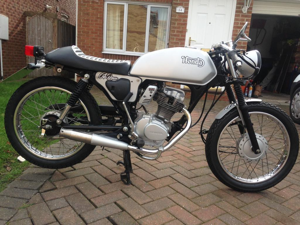 honda cg cafe racer 125cc in peterlee county durham. Black Bedroom Furniture Sets. Home Design Ideas