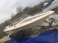 Broom speed boat 14 foot