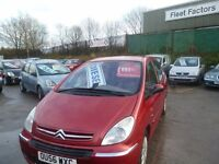 Citroen XSARA PICASSO EXCL 92,diesel MPV,full MOT,great family car,runs and drives nicely,OU56WXC