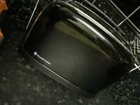 Russel hobbs toaster, kettle, microwave.