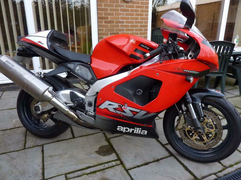 Aprilia RSV Mille 52 plate 1000cc V twin Aprillia Millie ...