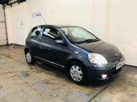 Toyota Yaris 1.0 blue in stunning condition low mileage only covered 55000 miles long mot till jan