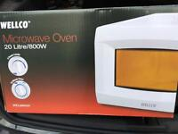 Wellco microwave oven brand new in box
