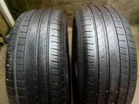 Pair Pirelli Scorpion Verde 235/60/18