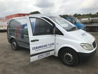 Mercedes Benz Vito 109cdi 111cdi van breaking bumper bonnet wing light radiator seat wheel door