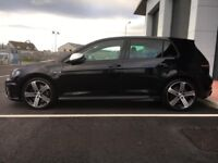 VWGolf R one owner from new, black hatchback new brake pads on front with FSH