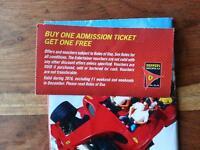 Ferrari World buy one get one free voucher Abu Dhabi